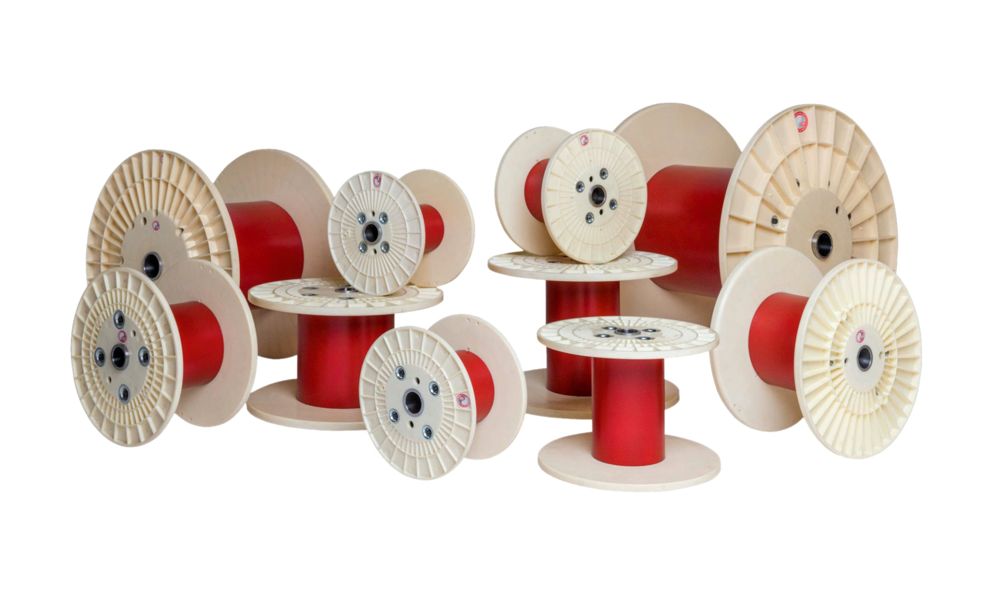 Hearl Heaton Process Reel for Telephone Cables