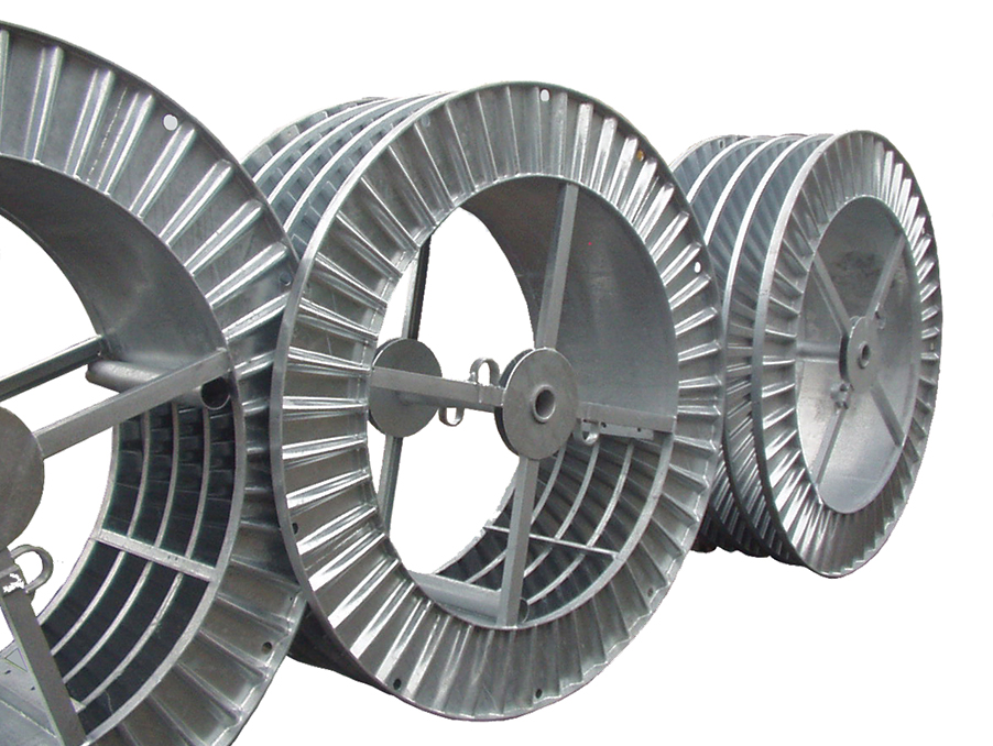 Pentre Group Steel Shipping Reels
