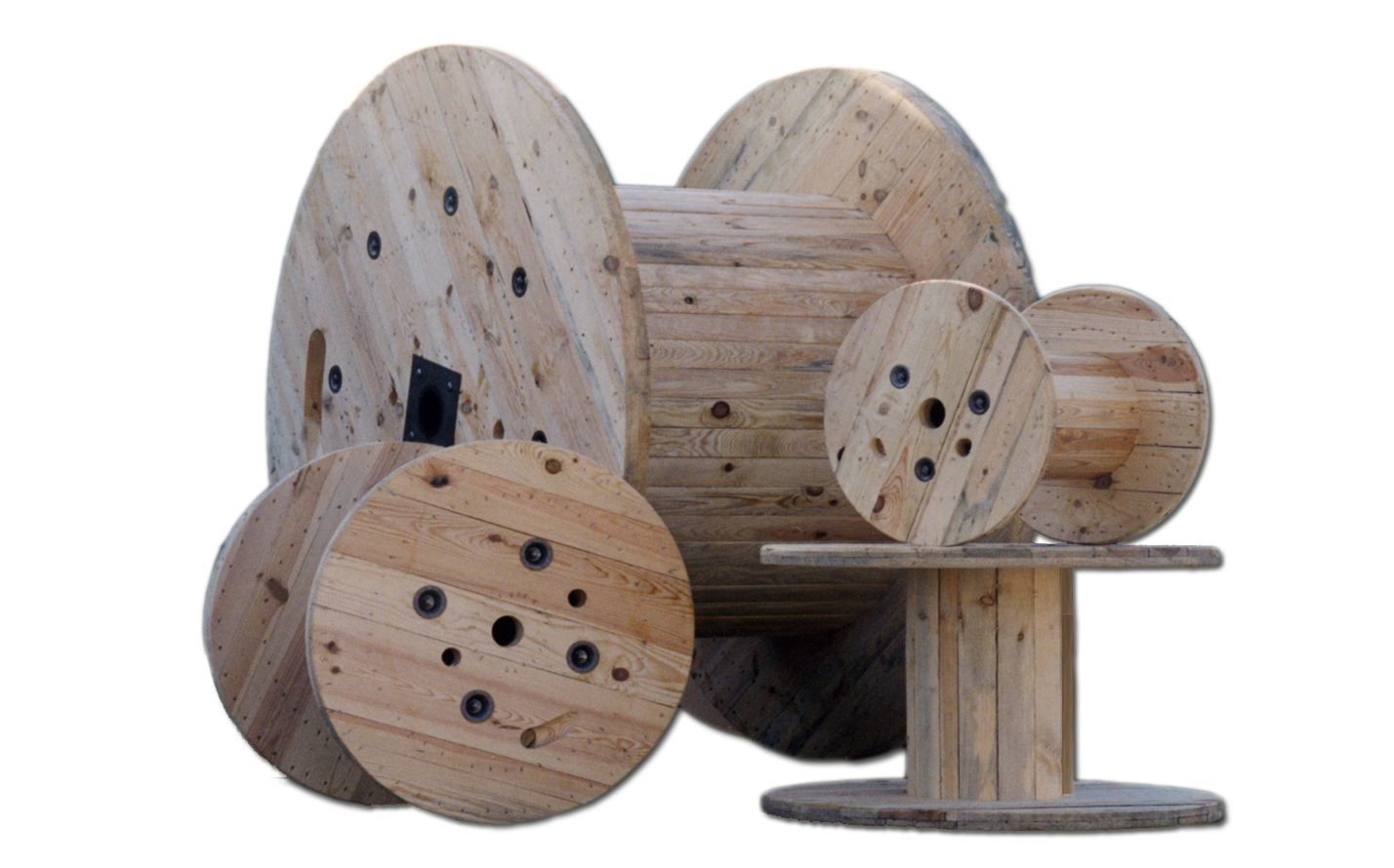 Pentre Group Wooden Reels And Drumsproduct Spotlight